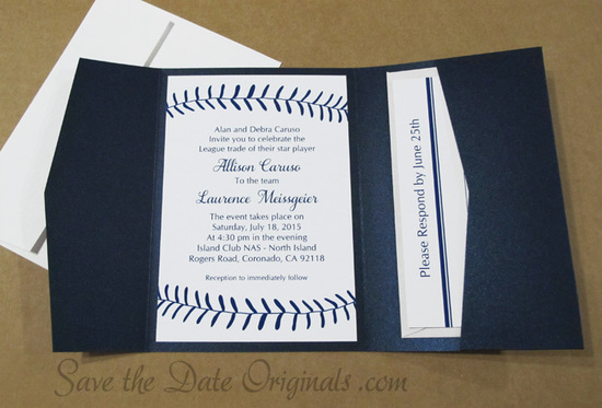 Baseball Pocketfold
